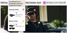Jason Mitchell (Eazy-E) Sonnenbrille (OG) aus dem Film Straight Outta Compton