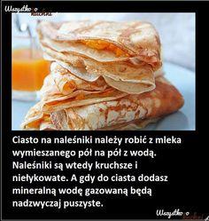 "Z CYKLU ""PORADY KUCHENNE""... Hamburger, Bread, Cooking, Health, Ethnic Recipes, Sweet, Dom, Household, Tips"