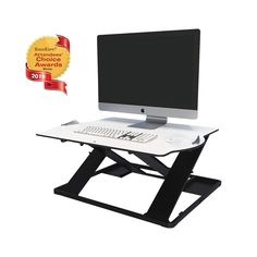 Opløft is a revelation in sit-stand desk design. It's our most portable standing desk converter yet, beautifully slim and light without compromising on quality or stability. Sit Stand Desk, Learning Courses, Service Projects, Product Label, Drafting Desk, Platform, Heel, Wedge, Drawing Board
