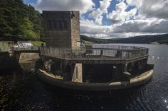 Errwood reservoir spillway, Derbyshire