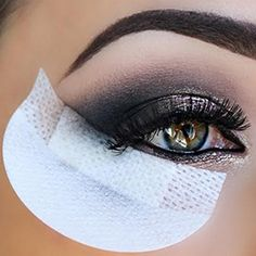 20piece/pack  Eye shadow Shield  for Eyeshadow Shields  Protector Pads Eyes Lips Makeup Application Tool Free shipping