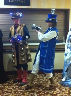 Doctor Who Cosplay and Costuming - CONvergence 2011