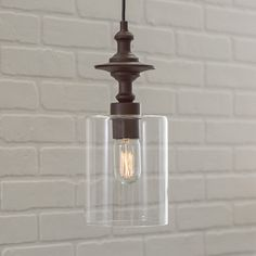 Found it at Wayfair Supply - Zahra 1-Light Pendant