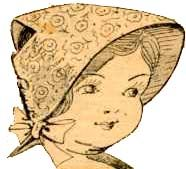 free pattern for a doll sun bonnet