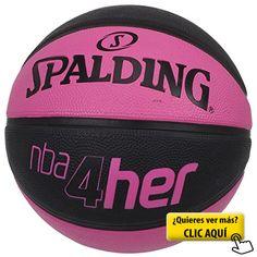 Spalding NBA Balón De Baloncesto, Mujer, Rosa /... #balon #basket
