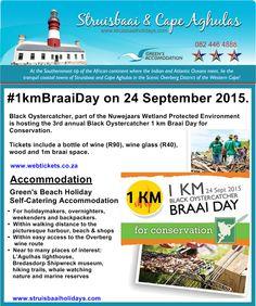 #1kmBraaiDay  #HeritageDay  #BlackOystercatcher  #WineEvents  #BraaiDay