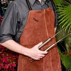 Texas Irons - Grilling Tools and Personalized Supplies Grill Apron, Summer Barbeque, Leather Apron, Grilling Gifts, Bbq Grill, Soft Suede, Couple Gifts, Gifts For Dad, Guy Gifts