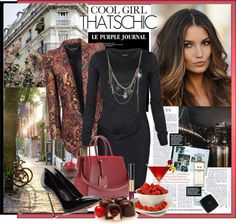 """""""Cool girl! That's chic!"""" by anallasa ❤ liked on Polyvore"""