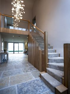 6 x Award Winning Barn Renovation working with Llama Architects & Janey Butler Interiors Bungalow Renovation, Barn Renovation, House Staircase, Staircase Design, U Shaped Staircase, Design Furniture, Plywood Furniture, Style At Home, Barn Conversion Interiors