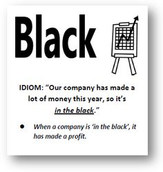 black idiom
