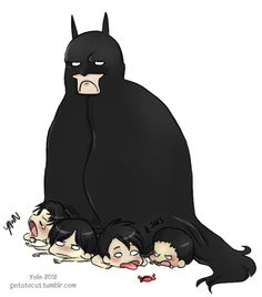 Batman´s hatching.Probably not what Anonymous wanted when requesting the batfamily…