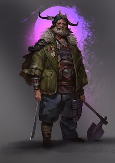 ArtStation - Hobo Warlord, Even Amundsen