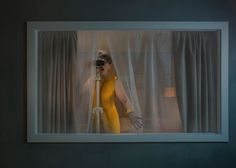 Norwegian photographer Ole Marius Jøergensen has a way of telling stories through his imagery. His series 'Peeping Tom' takes a close look (literally) at the concept of voyeurism, exploring the way in. Color Photography, Portrait Photography, Fashion Photography, Photomontage, Brightest Planet, Peeping Tom, Looking Out The Window, Before Wedding, Through The Window