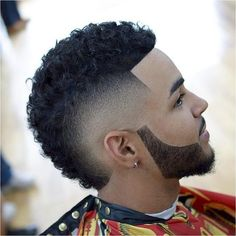 Discover our Top 100 of black men haircuts ? From the Buzz Cut to the FrowHawk, this guide offers to you the most amazing Black Men Hairstyles. Mohawk Hairstyles Men, Black Men Hairstyles, Hairstyle Man, Fade Haircut Styles, Beard Styles, Black Boys Haircuts, Haircuts For Men, Mohawk For Men, Black Men Beards