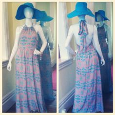 Loving this new Lula Kate maxi perfect for every occasion! #ootd #lulakate #privileged #monkeeshat #isola #monkeesoflex #shopmonkees