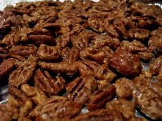Low Carb Candied Nuts (Replace Splenda with Truvia & some English Toffee Stevia Drops)