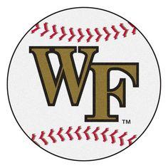 FANMATS NCAA Wake Forest University Baseball Mat