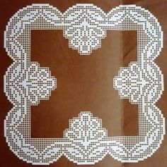 Crochet Placemats, Crochet Doilies, Crochet Hats, Crochet Borders, Filet Crochet, Crochet Baby Dress Pattern, Crochet Patterns, Yarn Crafts, Diy And Crafts