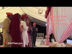 Interfaith Sikh Wedding Ardas