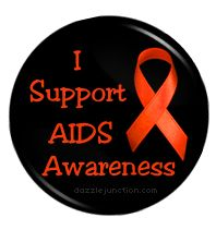 This October, wear the red pin and support the AIDS Awareness campaign!