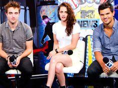 'Twilight' cast panel at Comic-Con 2012    #RobertPattinson #KristenStewart #TaylorLautner #ComicCon #Twilight