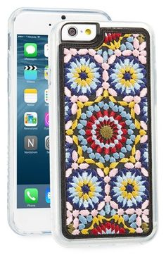 Free shipping and returns on Zero Gravity 'Casbah' Embroidered iPhone 6 & 6s Case at Nordstrom.com. A vintage-chic hard-shell case with vibrant floral embroidery and a flexible rubber bumper keeps your iPhone chic and protected from scuffs and scratches.
