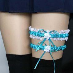 4e490237c Harajuku Lace Leg Chain Harness Garters Cinturão De Liga Casamento