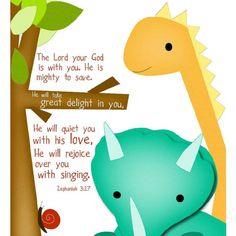 Cute scripture wall art (Etsy)