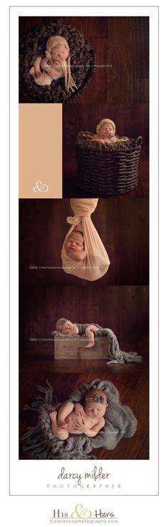 iowa newborn photographer darcy milder | his and hers | des moines, iowa