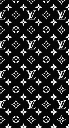 #iPhone #wallpaper #Louis Vuitton #black
