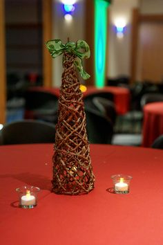 Corporate Christmas Party - Picture Courtesy of 2b Photography LLC  Venue & Catering: McWane Science Center Decorations: Any Reason To Plan LLC Lighting & Snow: Total Entertainment