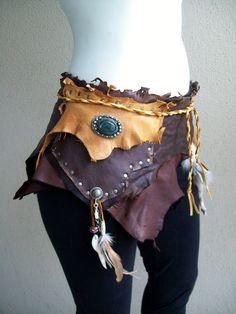 Gypsie Pouch for fairy costume by Xavietta.deviantart.com