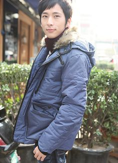2011 Fall & Winter Fashion Warm Jackets Blue  Item Code:#FTD27+Blue        Wholesale Price: US$55.80    Shipping Weight: 2.3KG