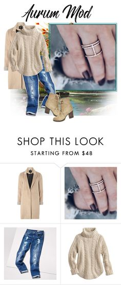 """""""Aurum Mod 7"""" by barbara-996 ❤ liked on Polyvore featuring mel, Tommy Hilfiger and Steve Madden"""