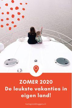 De leukste vakanties in eigen land, verzamelt op 1 blog. Van vakanties op een boot, bij de boer, in de natuur en duurzaam tot de mooiste vakantiehuisjes, de leukste steden en mega veel tips voor een dagje weg!   #vakantie #zomervakantie #nederland #opreis #vakantieineigenland #holland