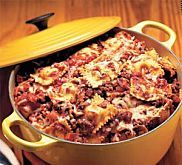 Slow-Cooker Bolognese Sauce over Pappardelle Pasta Recipe | MyRecipes.com