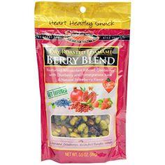 Seapoint Farms, Сухой Жареный Edamame, Berry Blend, 3,5 унции (Pack 2)