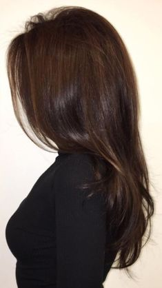 Black Coffee Hair With Ombre Highlights - 10 Cool Ideas of Coffee Brown Hair Color - The Trending Hairstyle Rich Brown Hair, Coffee Brown Hair, Brown Hair Shades, Brown Ombre Hair, Brown Hair Balayage, Brown Hair Colors, Hair Highlights, Brown Hair For Fall, Dark Hair