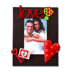 Create custom frames for all occasions.  Change out colorful magnets and favorite photos for unique year round displays.  Love from Embellish Your Story by Roeda.