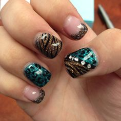 Aliceson Stones Gel nails