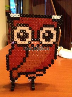 Owl hama beads by Ana y Santi