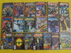 4a. série Batman da Editora Abril. Mar/95-Set/96. 19 edições (1-19).