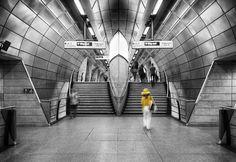 L a d y  i n  y e l l o w  @tfl #tubestation #perspectives #yellow #bnw #Southwark #symmetry #London #london4all #igerslondon #thisisLondon #timeoutlondon #londonlive #visitlondon #shutup_London #Londonforyou #vscolondon #thebigsmokelondon #artofvisuals #visualauthority #huntgramcreativity #igmasters #clickvision #lesphotographes #exploretocreate #visualoflife #huntgram #worldshotz