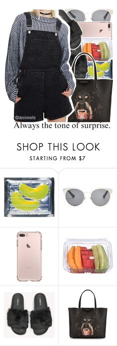 """Always The Tone Of Surprise."" by desirenelle ❤ liked on Polyvore featuring Christian Dior, Givenchy, Honey Punch and Melissa"