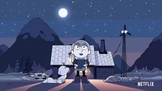 Netflix's 'Hilda' blends the best of 'Adventure Time,' 'Steven Universe', and 'Gravity Falls' Marvin Gaye, Netflix Original Series, Netflix Series, Stevie Wonder, Gravity Falls, Netflix Trailers, Daughter Of Smoke And Bone, Netflix Originals, Dark Matter
