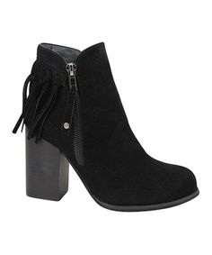 Look what I found on #zulily! Black Muse Bootie #zulilyfinds