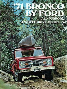 1971 Ford Bronco 4X4 SUV