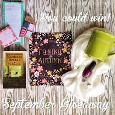 September Giveaway and August Winner - daisy & june