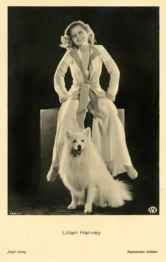 Other Collectible Antique Photos Antique Photos, Vintage Photographs, Vintage Photos, Vintage Cards, Celebrity Dogs, German Spitz, Japanese Spitz, American Eskimo Dog, Black And White Dog