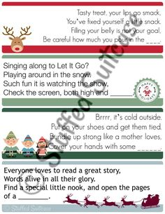 Christmas season is the perfect time to create memories and begin lasting family traditions. Enjoy using these Christmas scavenger hunt clues to hide your kids' gifts and create new lasting family memories and traditions! Christmas Scavenger Hunt, Christmas Party Games, Christmas Activities, Christmas Printables, Holiday Fun, Holiday Ideas, Xmas Games, Holiday Games, Xmas Party